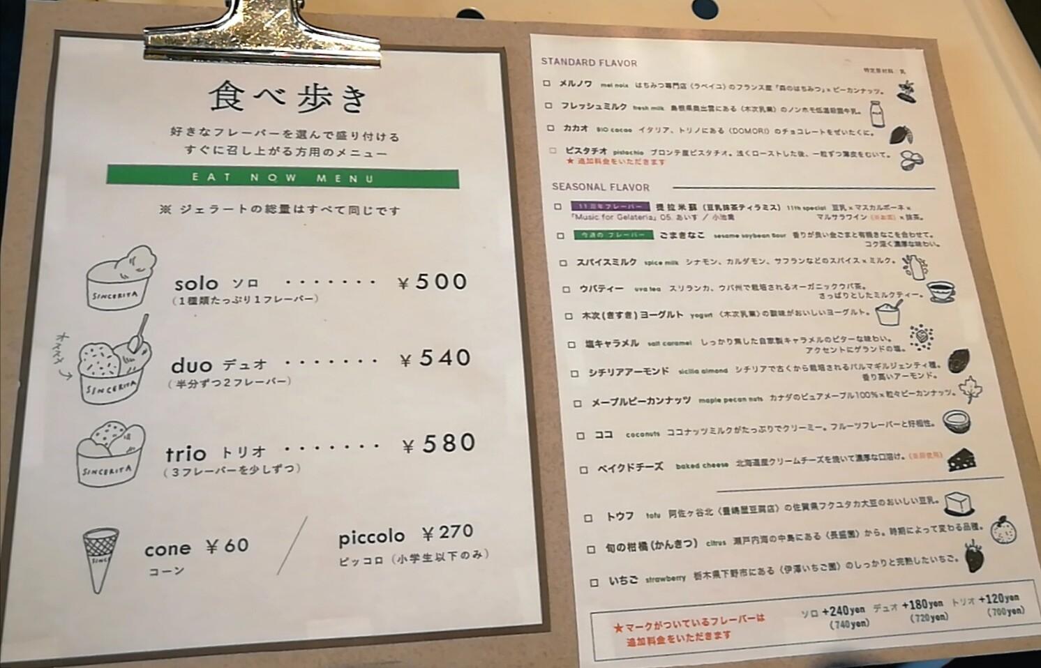 星野みなみの食べた阿佐ヶ谷のジェラート屋はどこ?メニューや値段と評判も調査!